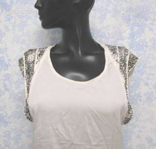 NWOT IRO Chany Embellished Silk Blend Top   Size 0