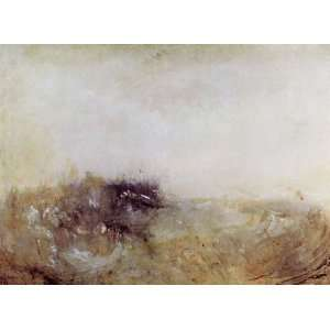 Kunstdruck William Turner Rauhes Meer Rough Sea  Küche