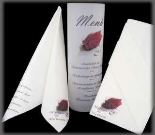 bedruckte Servietten Foto Lichttüte Hochzeit Taufe Geburt Tischdeko