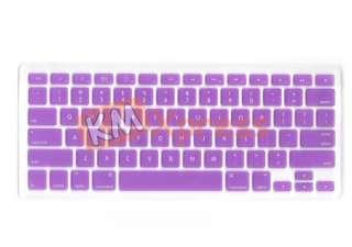 Purple Print Keyboard Skin Cover Mac book Pro Air 13 15