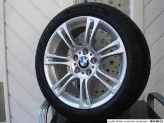 Original BMW 5er F10 Styling 350 M Doppelspeiche 18 Zoll Alufelgen 6er