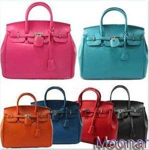 Super Star Shoulder Tote Boston Bag Handbag HOLLYWOOD 7 Colors