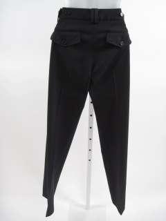 BCBG MAX AZRIA Black Straight Leg Pants Slacks Sz 4