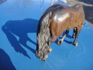 RARE ANTIQUE VINTAGE INCREDIBLE DETAIL BRONZE HORSE FIGURE STATUE