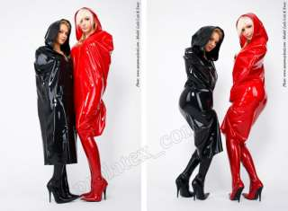 Latex Gummi Rubber Bond Cape mit Kapuze von Latexa Gummimantel