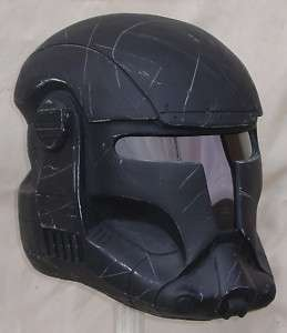 Rare Star Wars Commando Forces Fighter helmet wired