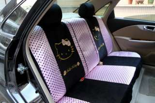 Neu Hello Kitty AUTO Sitzbezüge Schonbezüge 10Teile 063