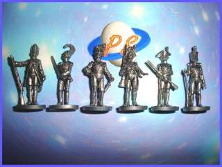 KINDER SURPRISE METAL SET   SOLDIERS IRON 35 MM