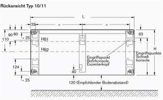 BUDERUS Kompakt Heizkörper Bauhöhe 600 Typ 11,21,22,33