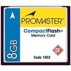 Promaster 150X Compact Flash CF Memory Card   8GB   180 Megabytes Per