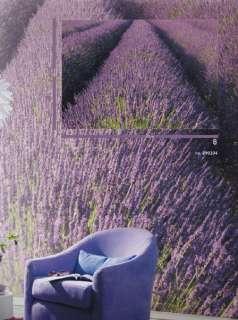 EDEL Vlies Foto Tapete Digital Lavendel B372 x H260 cm