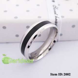 Stainless Steel Ring Item ID2002 US Size 7 8 9 10 (1 Pcs)