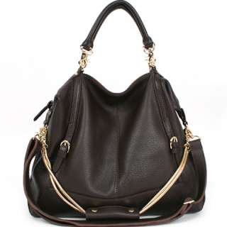 NWT Genuine leather JESSE Satchel tote bag+long strap