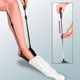 EXTENDABLE SOCK / STOCKING AID HELPER ASSIST