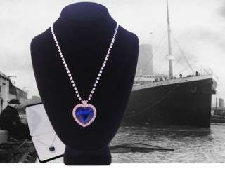 Best Replica Titanic Heart of the Ocean Necklace Style T5 Deluxe Gift