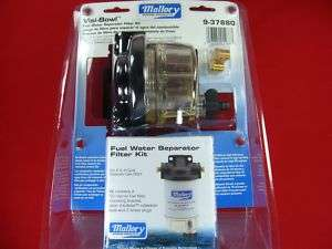 WATER SEPARATING FUEL FILTER KIT MALLORY 9 37880
