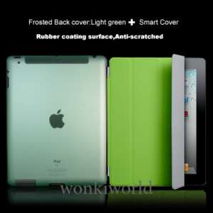 Green Smart Cover + Back Hard Case Combo 2in1 iPad 2