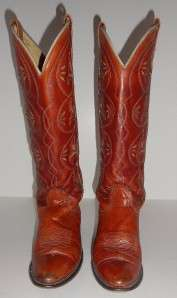 Acme Womens Vintage Dingo Tall Cowgirl Boots Size 5 M
