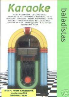 DVD KARAOKE RICARDO ARJONA MARCO ANTONIO SOLIS MANA