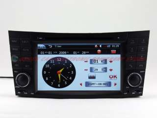 MERCEDES BENZ E Class/W211 E200/E220 Car DVD Player GPS Navigation