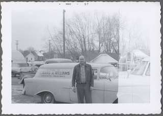 Car Photo Man & 1956 Chevrolet Sedan Delivery 529149