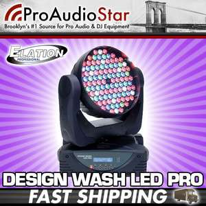 Design Wash LED Pro 324W LED Moving Head Wash 108x3W RGBW PROAUDIOSTAR