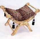 barock sitzbank leopard sitzgondel gold tigerlook poste eur 95 00