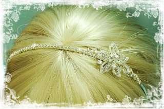 SWAROVSKI RHINESTONE WEDDING BRIDAL HEADBAND TIARA