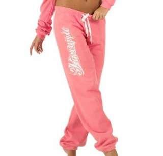 Pineapple Damen Spray Logo Jogginghose Pink  Bekleidung