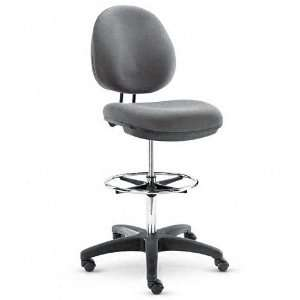 Alera  Interval Series Swivel Stool, Gray Fabric    Sold