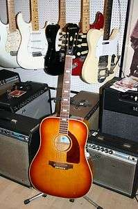 Vintage 1968 Epiphone Frontier acoustic guitar Gibson made Dove spec
