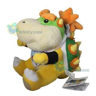 Nintendo Wii Super Mario Bros 7 Bowser Jr Plush Figure