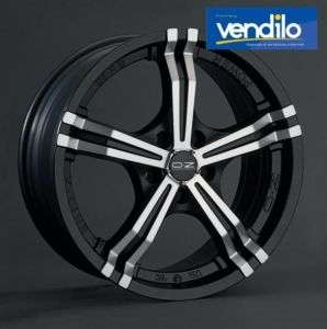 Cerchi lega 17 ET 37 OZ racing POWER Black Fiat 500