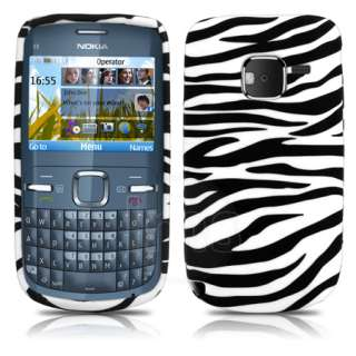 London Magic Store   Black Zebra Gel Case Cover Skin For Nokia C3