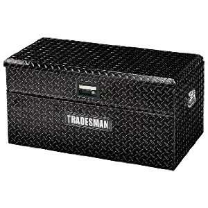 TAWB36BK 36 Black Aluminum Diamond Plated Flush Mount Box Automotive