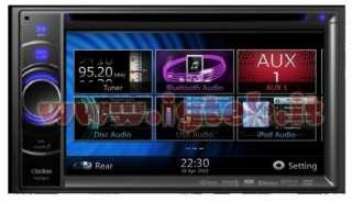 AUTORADIO 2DIN 6,2 CLARION ITALIA NAVIGATORE GPS NX501E
