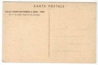 Cave de Champagne Tonneaux de Vin Pommery & Greno 1920s