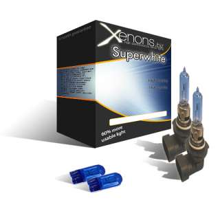 XENON GAS ICE WHITE (5000K) HEADLIGHT KIT INCLUDES