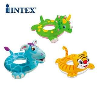 INTEX ANIMAL CHILDRENS INFLATABLE SWIM RING TUBE 80CM