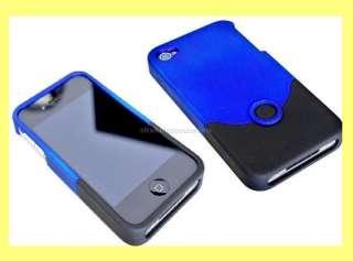 OEM iFROGZ LUXE IPHONE 4 G HARD CASE SKIN BLUE/BLACK