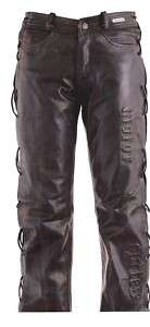 PANTALON HOMME CUIR rebel attitude, bikers, country