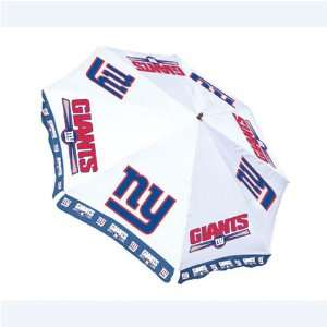 New York Giants Market/Patio Umbrella: Sports & Outdoors