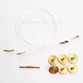 Gift Set TULIP CARRY C Interchangeable Gold Plated Bamboo Circular