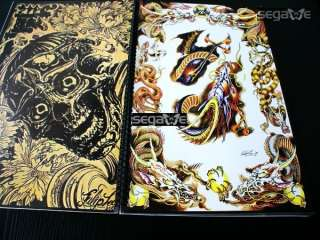 Subject: Japanese style Tattoo Design Book Dimensions: 16.5 x 11.8 x