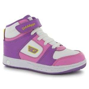 BNIB ~~Little girls GOLDDIGGA high top trainers : 3 colours!~~ toddler
