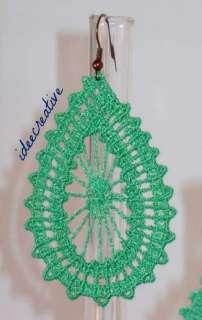 Orecchini in pizzo lavorazione crochet a Verona    Annunci