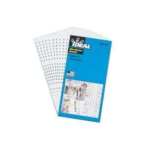 IDEAL INDUSTRIES 44104 WIRE MARKER BOOK LEG 46 90: Camera