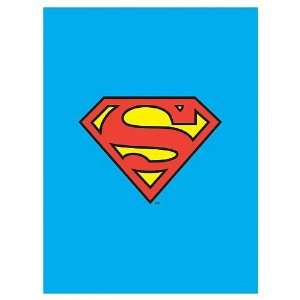 Superman Logo Fabric Poster Wall Hanging: Toys & Games