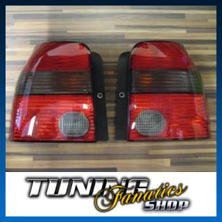Original VW Lupo GTI Rckleuchten Rot/Schwarz Windsor  