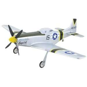 Tiger   P 51D Mustang Park Flyer ARF (R/C Airplanes): Toys & Games